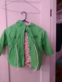 $16 Girls Sz 4/5 Hooded Spring Jacket