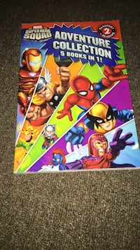 5 books in one marvel Toronto, M8Y 1R7