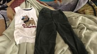 tank top (3T) n Corduroy pants(4T) Rock Hill, 29730