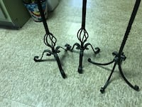 Tall metal candle holders. Enola, 17025