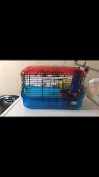 blue and red pet cage screenshot Dixon, 95620