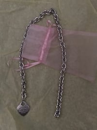 silver chain link necklace with pendant Salem, 97306