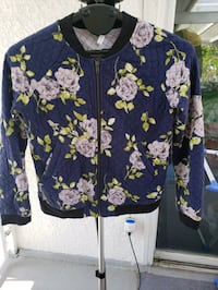 Floral zip up - small