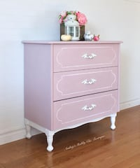 Sweet Pink Dresser Newly Restyled Richmond Hill