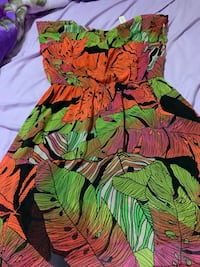 Beautiful tropical dress