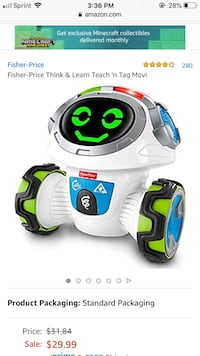 Fisher Price Think n Learn Robot Baltimore, 21229
