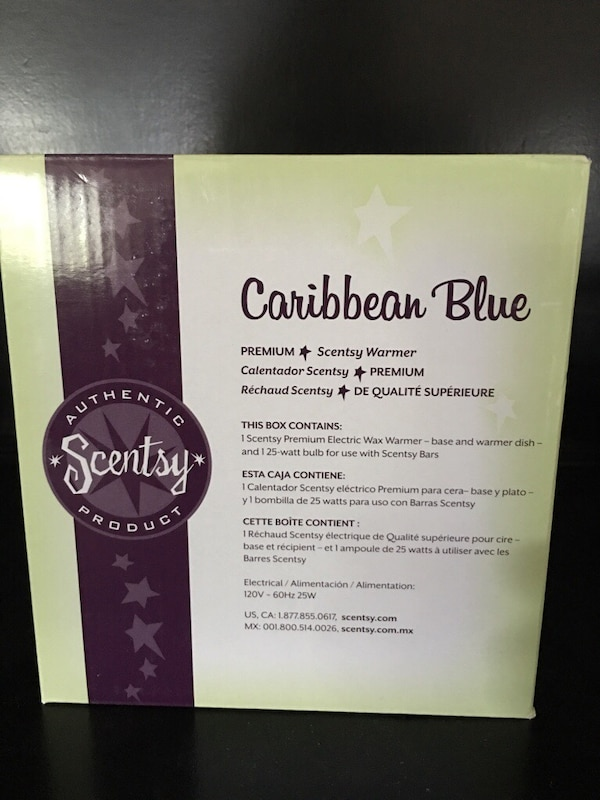 Used Caribbean Blue Scentsy Warmer for sale in Branch - letgo