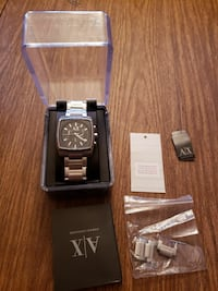 Armani Exchange Silver Watch 381 mi
