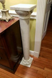 Solid marble plant stand Frederick, 21701