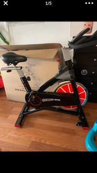 blercise Bike,Stationary Cycle Bike for Home Cardio Gym (new)