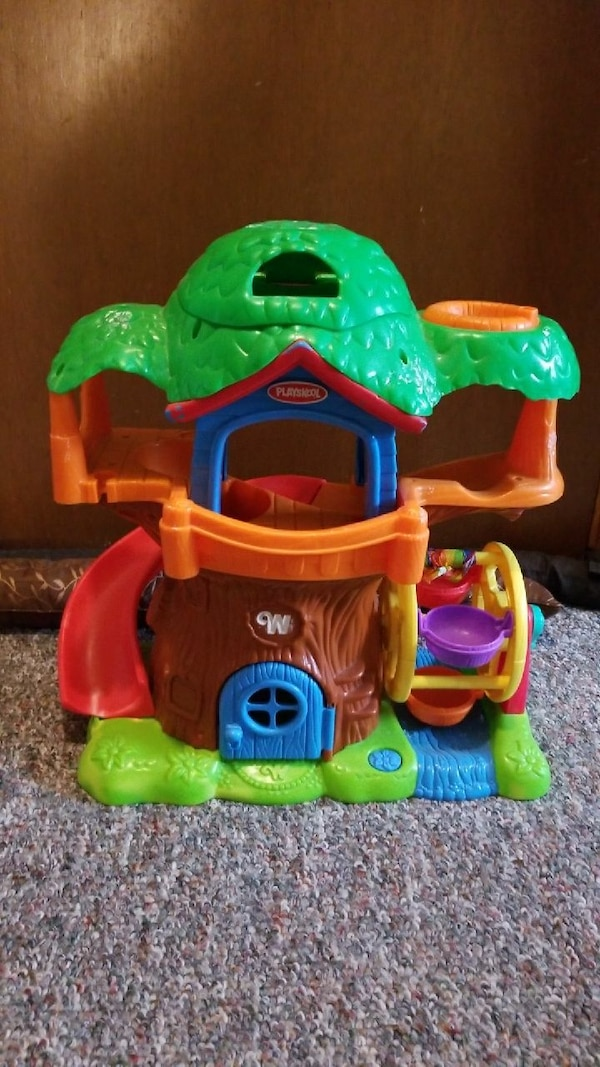 Used Weeble Wobble Musical House For Sale In Lake Mills Letgo