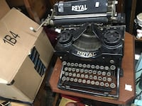 Black royal typewriter Alexandria, 22311