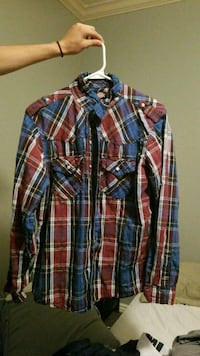 Red and blue flannel Lindon, 84042