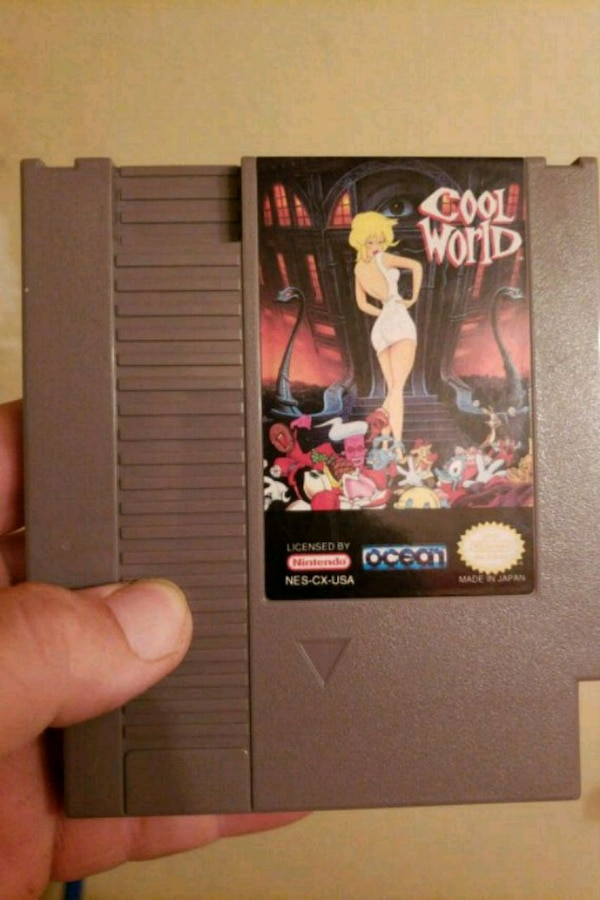 Cool world rare nes game