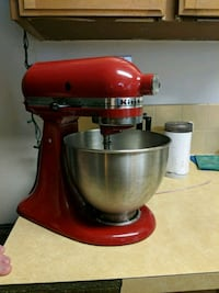 Barely used red kitchen aid Edmonton, T6E