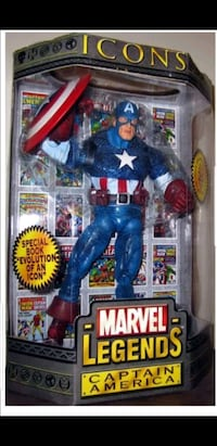 Sealed Captain America  Moss Point
