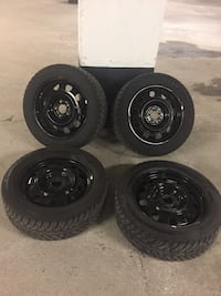Winter tires and rims Mazda CX-3 Mississauga, L5N
