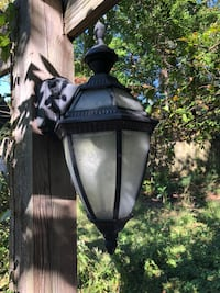 """2 light lamps 22"""" tall, 12"""" wide Mooresville, 28117"""