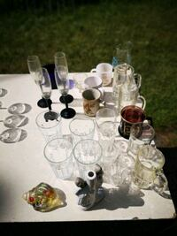 Assortment of Glasses and cups Cambridge, N3H 2C8