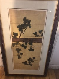brown wooden framed painting of flowers 纽约市, 11355