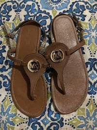 Michael KORS Leather Sandals Size 8 Gainesville, 20155