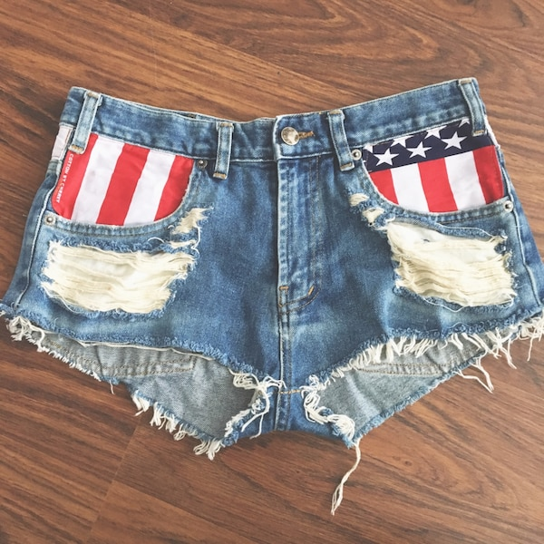 American vintage shorts