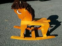 Rocking horse Amish crafted brand new all wood Nazareth, 18064