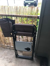 Green outdoor chair. Will be cleaned College Station, 77840
