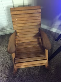 Brown wooden windsor rocking chair, use like a new for 2 to 7 year old kids Live Oak, 78233