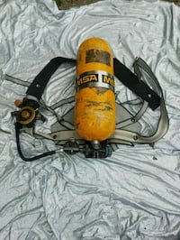 MSA Firefighter SCBA harness and tank.  Halloween / wall hanging  Antioch, 37013