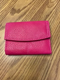 Small pink wallet