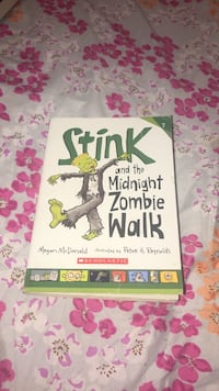 Scholastic Stink and the Midnight Zombie Walk by Megan McDonald book