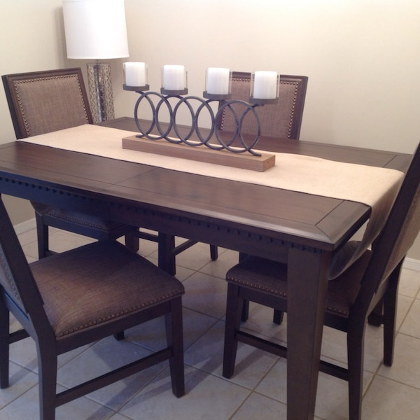 Whole Entire Brand New Dining Room Set 60 Without Leaf 78 With The Including 4chairs Never Used