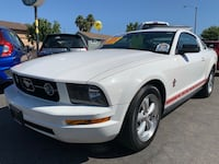 2008 Ford Mustang V6 Leather Interior W/129K Miles! Super Clean! Easy Financing! La Mirada