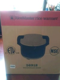 Brand new Rice master rice warmer woodgrain body 42 km