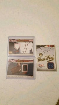 Triple Play Real Feel Relic Card Lot Of 3 Jessup, 20794