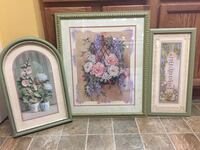 Floral Home Interiors pictures. $5 a piece.
