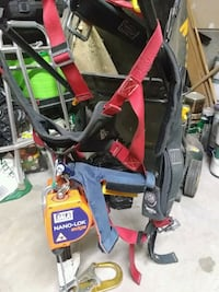red and black 1191430. Protecta pro body harness Albuquerque, 87120