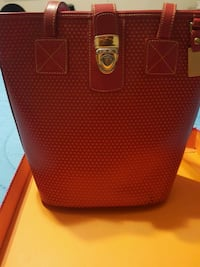 Red Leather Purse ~ Like New Condition