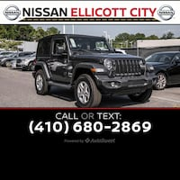 2018 Jeep All-New Wrangler Sport Ellicott City, 21043