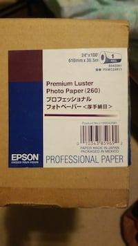 "Epson Premium Luster Photo Paper 24""x100""  Bryans Road, 20616"