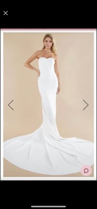 NWT sheath wedding dress Manchester, 03103