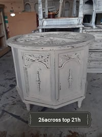 white and gray wooden cabinet Raleigh, 27612