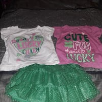 Baby Girl St Patty's Day outfit Tampa, 33610