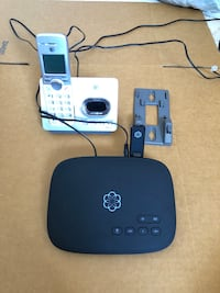 Ooma Telo Free Home Phone Service with Wireless and Bluetooth Adapter and Adelphi, 20783