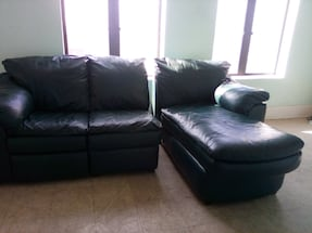 Sofa Genuine leather  96 x 68
