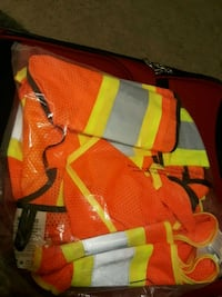Two reflective Fabrics safety vest. Edmonton, T5Y
