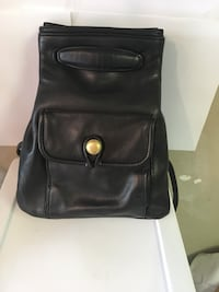 All leather backpack Fairfax, 22033