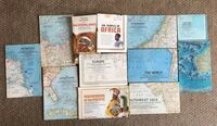 1950s-1970s National Geographic Large Wall & Infographic Maps Calgary, T3C 0X6