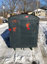 2 person fish hut, very warm!! Includes towing sled for transporting, stove, lights, new propane tank, dishes, spud... Georgina, L4P 3E9